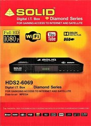 Solid HDS2- 6069 Free-To-Air Mpeg-4/ DVB-S2/ PVR IT Box