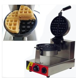 Modern Rotary Waffle Maker