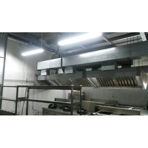 Stainless Steel Hotel Kitchen Exhaust System