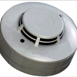 White Fire Alarm Control Panel Plastic Smoke Detector, Size: 5 Inch Diameter