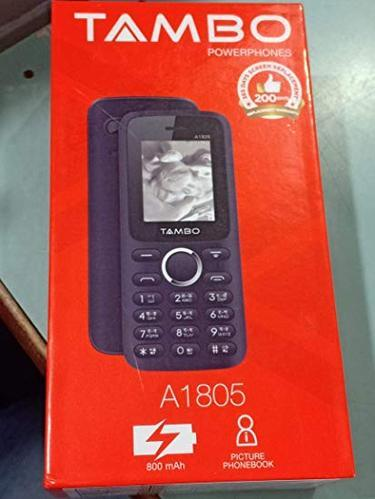 Grey Good Tambo Feature Phone A1805, Model Number: Tambo A1805, Screen Size: Small