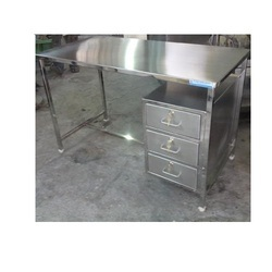 TGPE Stainless Steel Table With Drawers