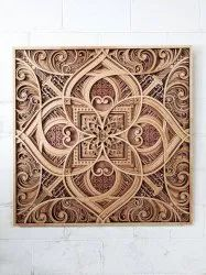 Brown Wooden Wood Arts, For Decoration