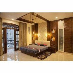 Rectangular Designer Double Bed Furniture