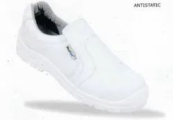 Clean Room White Safety Shoes