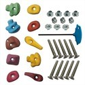 Small Climbing Holds, Bolt, T-Nuts, LN Key