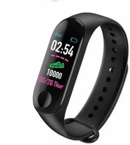 M3 Bluetooth Band Heart Rate/pedometer/sleep Monitoring Multi Sport Mode  Fitness Band (black)