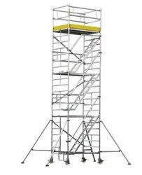 Aluminium Double With Mobile Scaffolding Tower Ladder (Model No.JN 101)