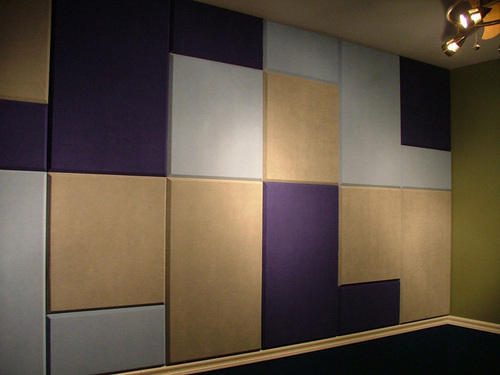 fabric wall designs. Stretch Fabric Wall Panelling in Delhi by Auditorium Curtains  ID