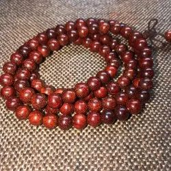 Red Sandalwood Mala 8mm