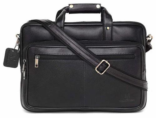 34b8ff0fd8d4 Men s Leather Laptop Messenger Bag at Rs 2000  piece