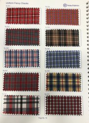 Uniform Fancy Checks