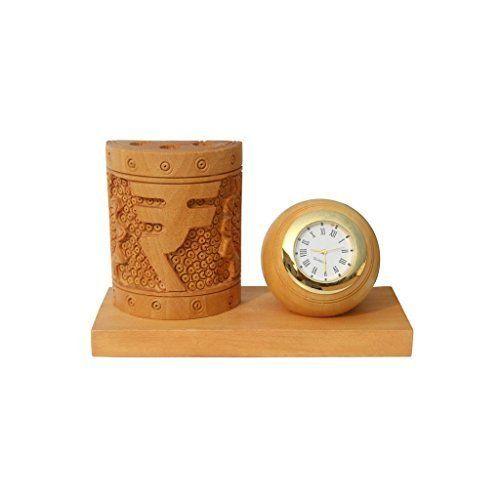 Handicrafts Wooden Pen Stand Size 24 X 20 Cm Id 17584902473