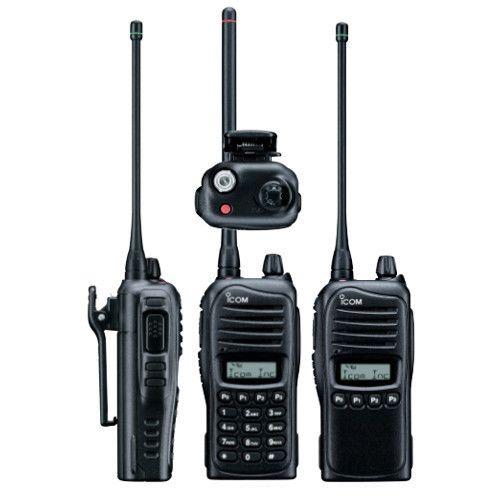 Icom Handheld Ic F3023 Vhf And Uhf Transreceivers