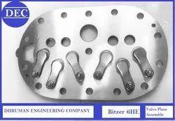 Bitzer 6 HE Valve Plate Assembly