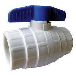 PP Solid Ball Valve Short Handle