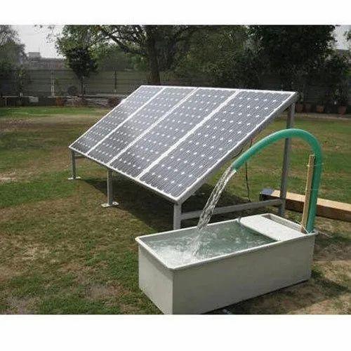 Solar Water Pumps - Solar Water Pump Wholesale Trader from Ramganj Mandi