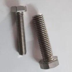 Hexagonal Polished SS Hex Screws, Size: M4 To M10