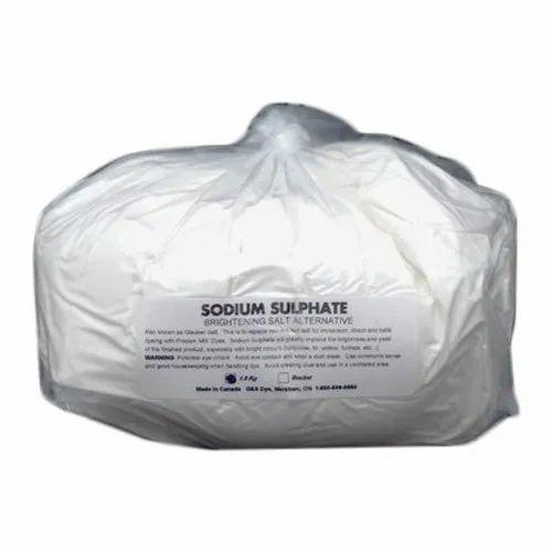 Powder Sodium Sulphate, Packaging Size: 1 Kg, Packaging Type: Bag