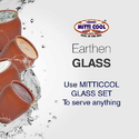 100ml Earthen Glass Set