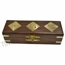 Antique Brown Nautical Wooden Boxes