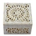 Soapstone Jewelry Box