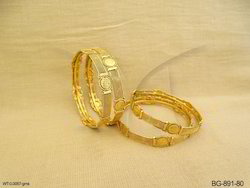Temple Jewellery Coin Bangle