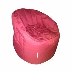 Pink Plain Bean Bag