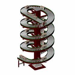 Spiral Roller Conveyor System