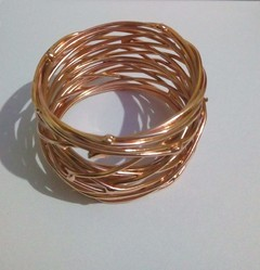 copper VM Handicraft Iron Napkin Rings, Size: dia 1.5 Inch , Packaging Type: Sea worthy