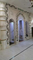 Marble Door Inlay Work