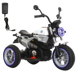 Wp Baby Battery Operated Ride On Ricco Bike 902 White