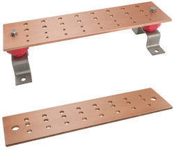Telecommunication Copper Busbar Double Row