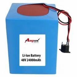 Li-Ion Battery Pack 48V 24000 Mah