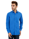Blue Color Plain Shirt