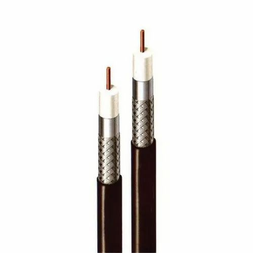 Single Core Polycab RG 11F 75 Ohms Coaxial Cable