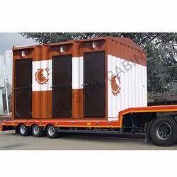 GI Portable Luxury Toilet Cabin
