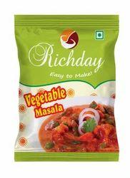 Richday Vegetable Masala, Packaging: Packet
