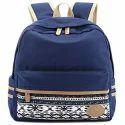 Dark Blue Backpack Bag
