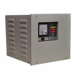 U & Kay Single Phase Servo Voltage Stabilizer, Output Voltage: 230v Ac, Floor