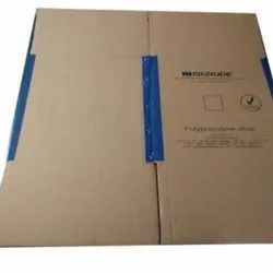 Kraft Paper Rectangle Printed Binding Corrugated Boxes, Box Capacity: 21-30 Kg, Material Thickness: 10-12 mm