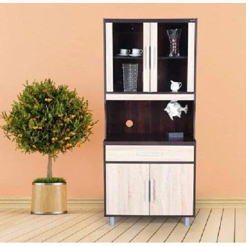 Wooden Microwave Kitchen Cabinet