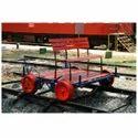 Track Survey Vehicle Push Trolley
