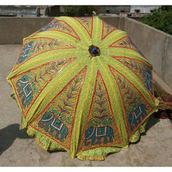 Embroidered Sun Umbrella
