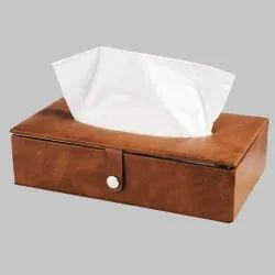 Leather Car Tissue Box
