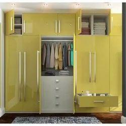 5 Elements Wooden Bedroom Wardrobe