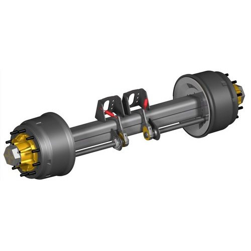 Trailer Axle, Trailer Dummy Axle, For Automotive Industry, Rs 46000 /piece  | ID: 20643727748