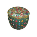 Indian Crocheted Cotton Poufs