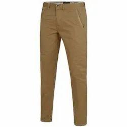 Regular Fit Casual Wear Mens Cotton Pants, 28-36