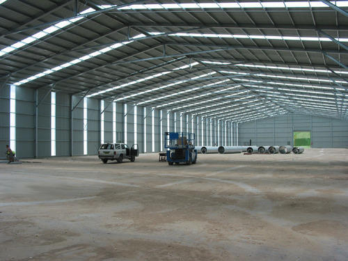 Steel Prefabricated Warehouse Sheds